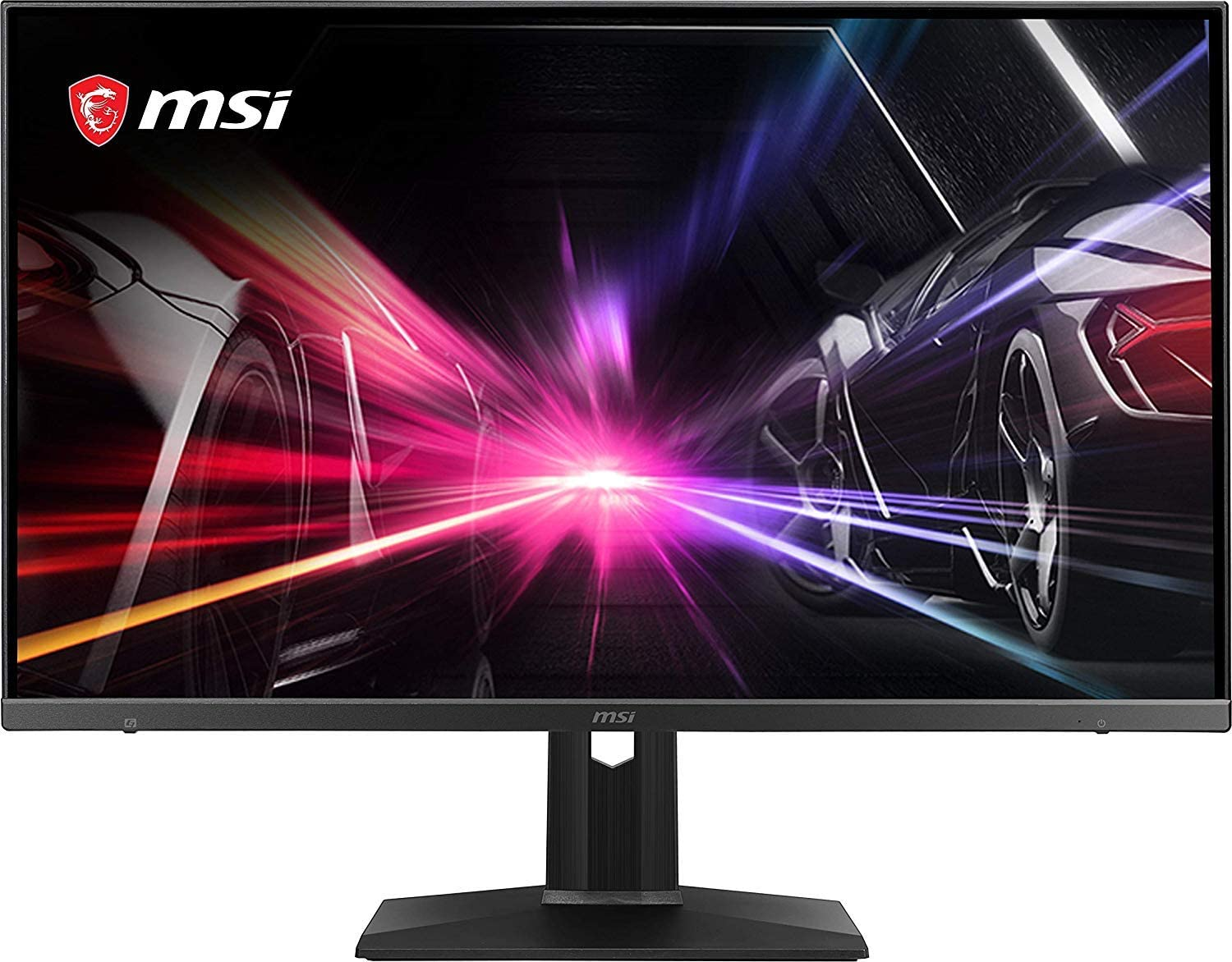 "MSI FHD non-Glare with Narrow Bezel 165Hz 1ms Height Adjustment AMD FreeSync HDMI/DP 1920 x 1080 27"" Gaming Monitor (Optix MAG271R),Black"