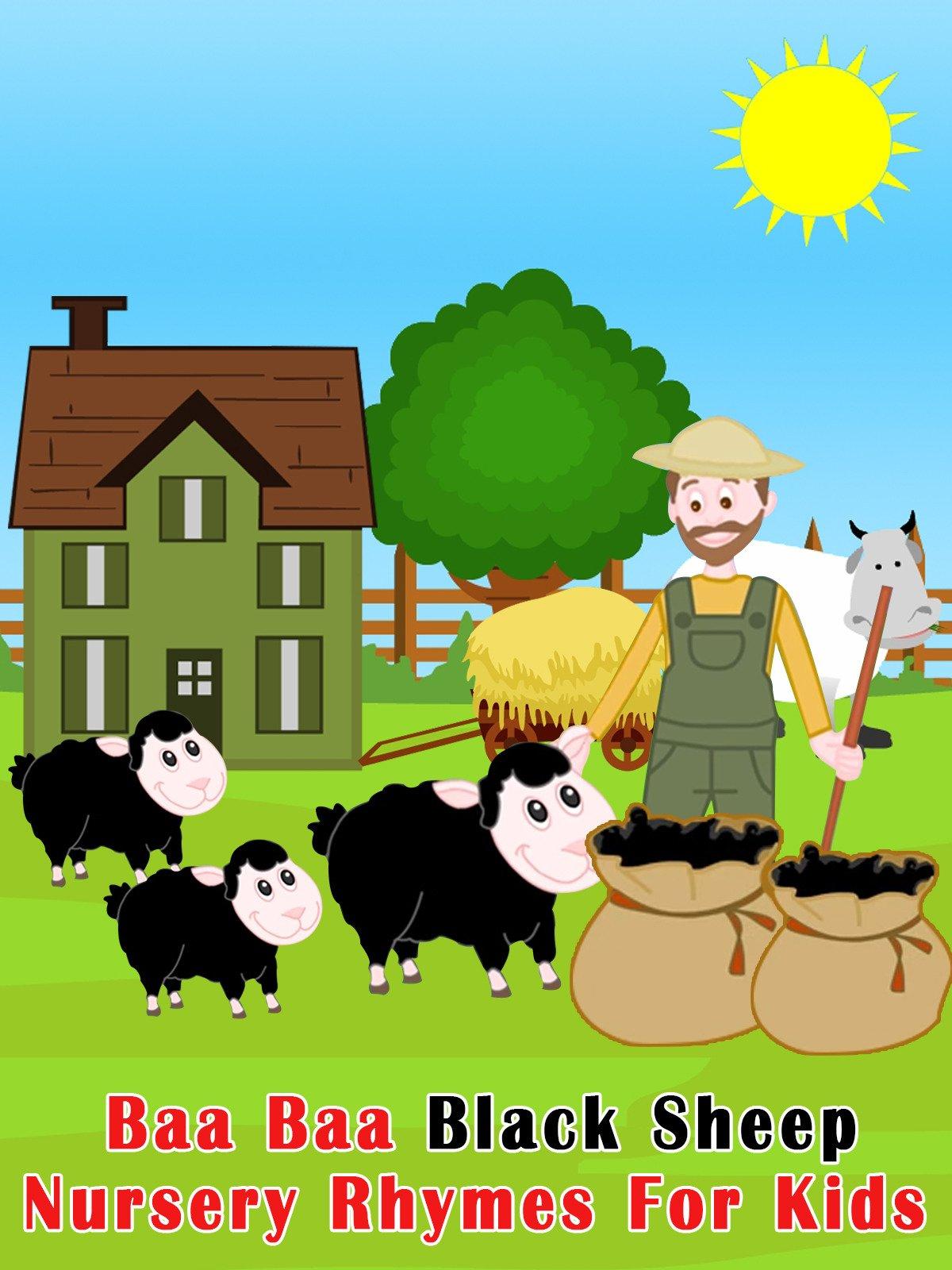 Watch Baa Baa Black Sheep Nursery Rhymes For Kids Prime Video