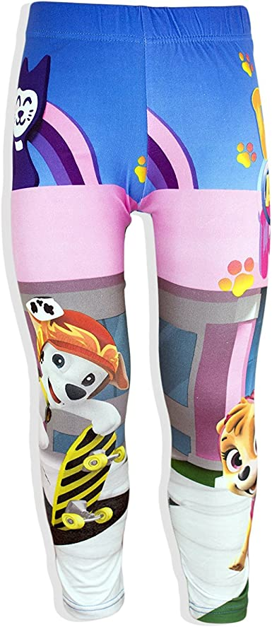 PAW Patrol Girls Multicolor Long Leggings Tights for Age 2-5 Years