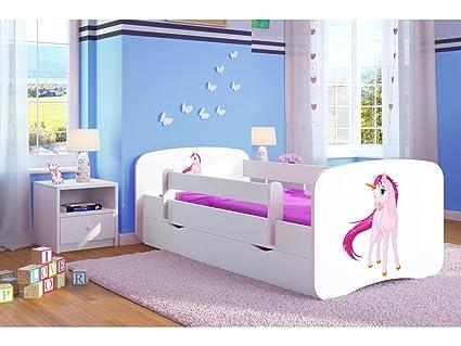 Letto Singolo Per Bambina.White Toddler Girl Kids Letto Per Bambini Principessa Letto