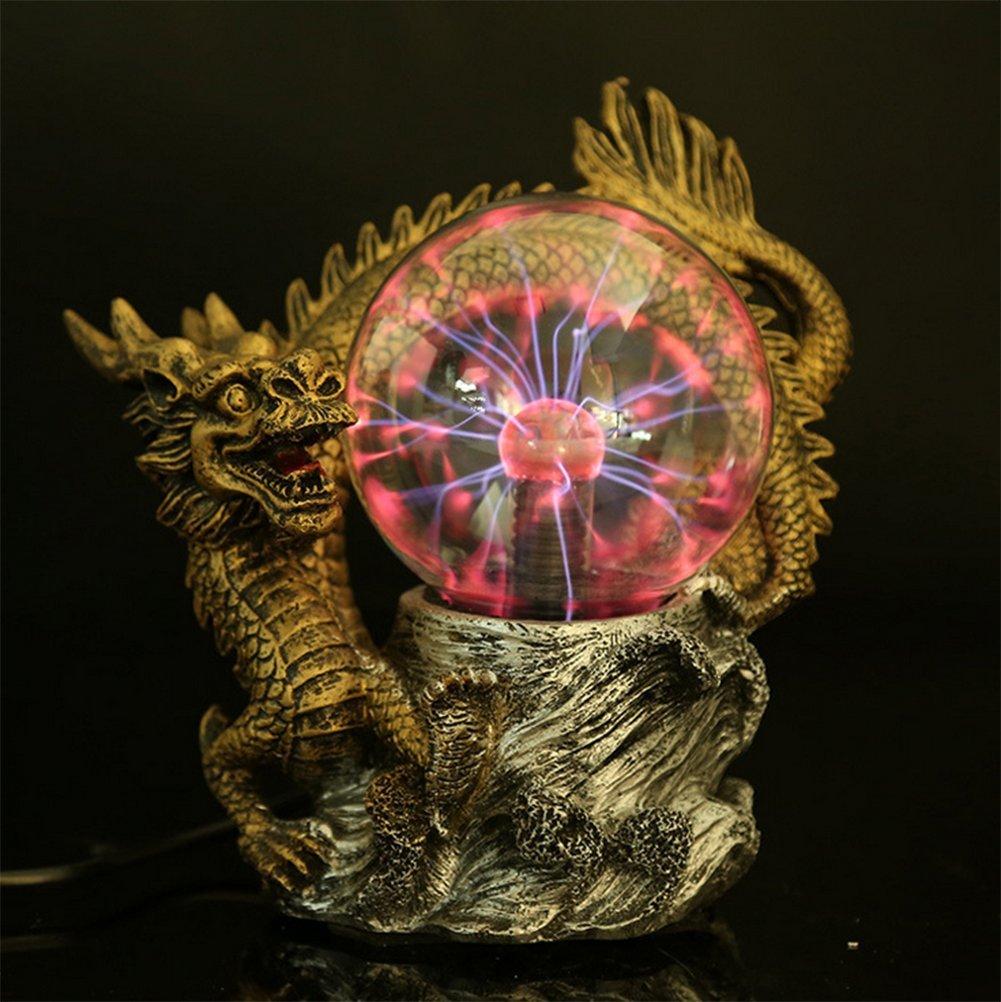 OOFAY LIGHT® Plasma Ball Light Magic Lighting Glow Electrostatic Crystal Ball Craft Creative Decoration Ornaments