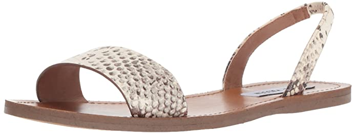 4f6250de154 Amazon.com  Steve Madden Women s Alina Sandal Snake 6.5 M US  Shoes