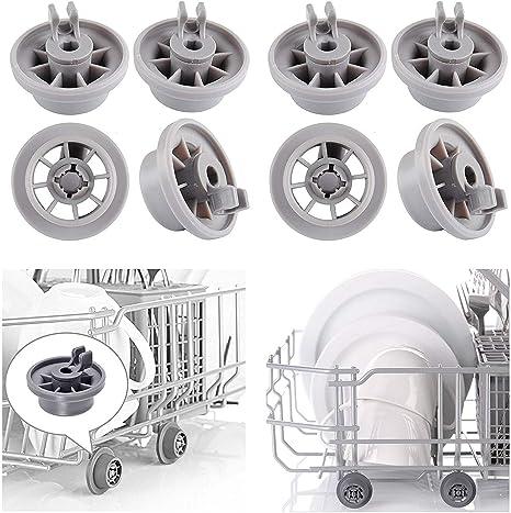Pinzas de ruedas para lavavajillas para Bosch 165314 estante ...