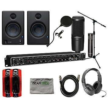 Amazon.com: Behringer umc-1820 u-phoria W/monitores de ...