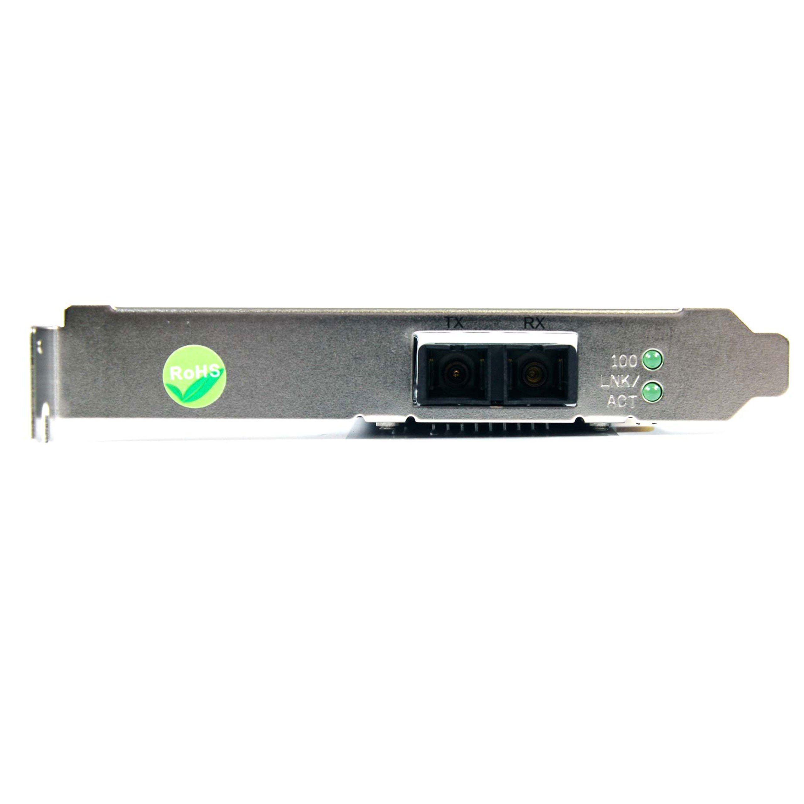 StarTech.com 100Mbps Full/Low Profile Ethernet Multi Mode SC Fiber PCI NIC Card - 2 KM (PCI100MMSC) by StarTech (Image #3)