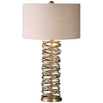 Good Uttermost 26609 1 Amarey Metal Ring Table Lamp