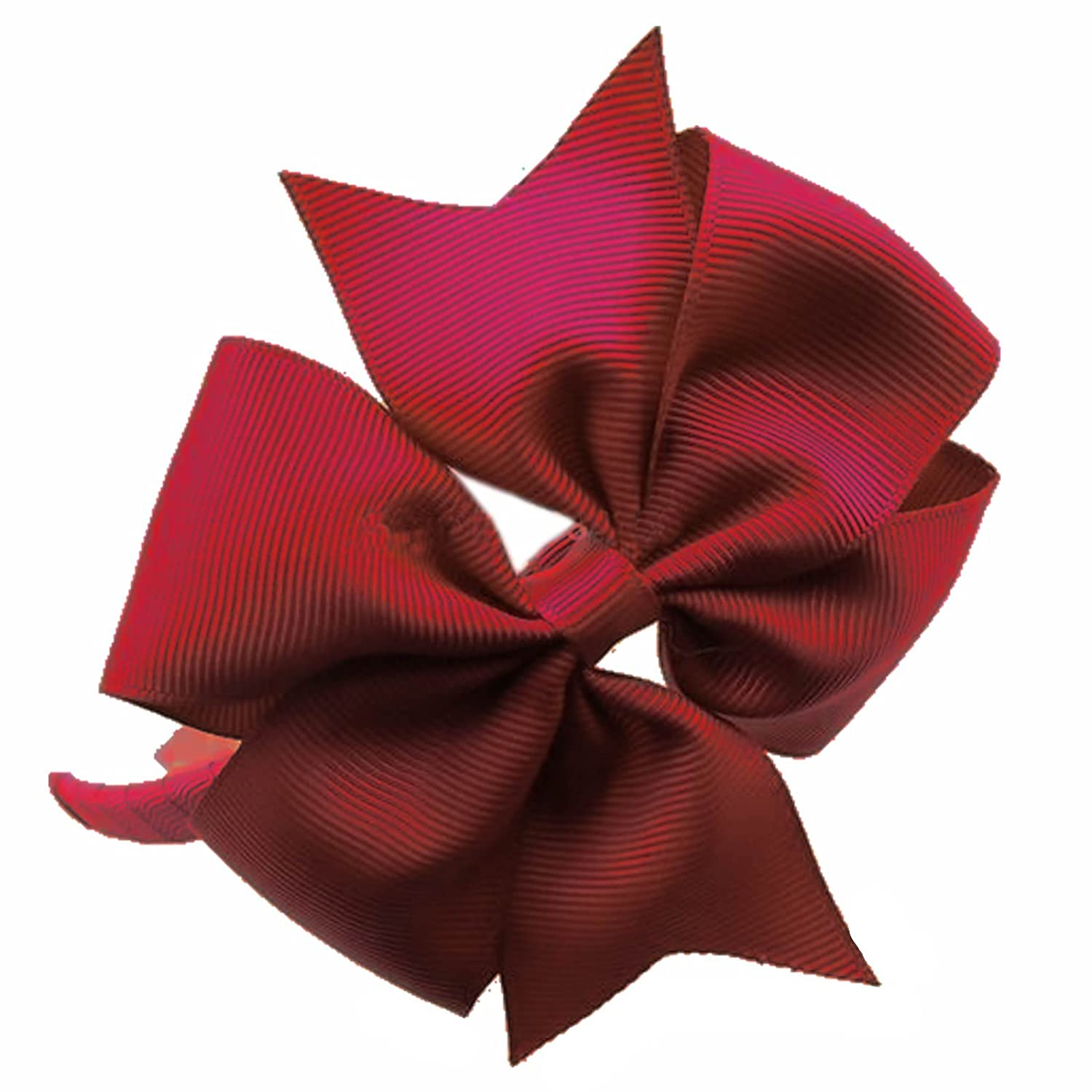 1 x Large Flat Fan Ribbon Bow Head Alice Band Hair Band School Uniform HB013