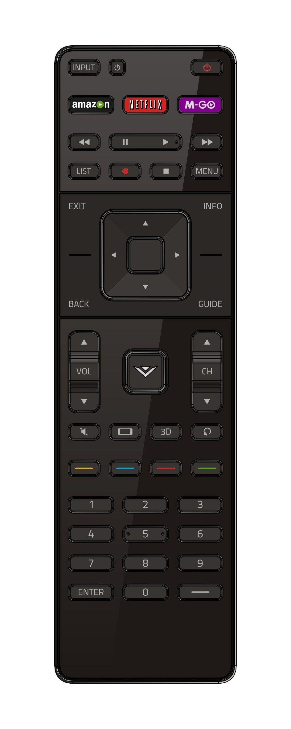 Control Remoto Original VIZIO smart TV XRT510 all VIZIO M...