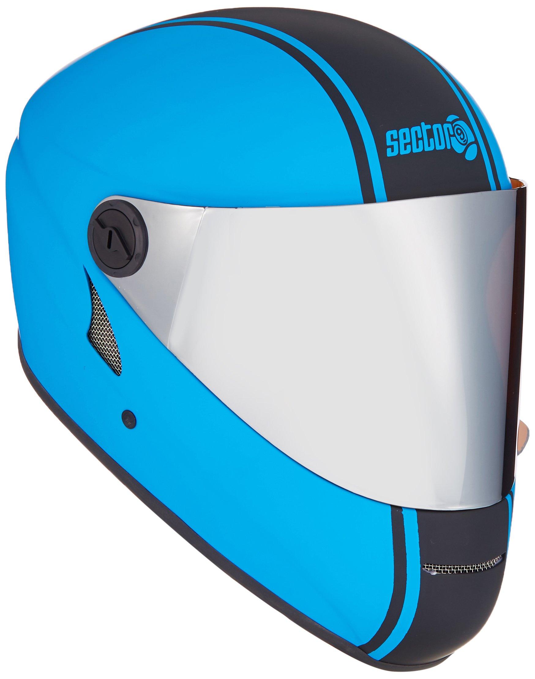 Sector 9 Channel Downhill Full Face Helmet, Blue
