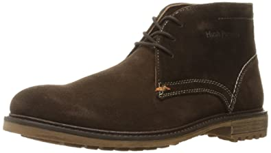 Hush Puppies Men's Benson Rigby Chukka Boot, Dark Brown Suede, ...