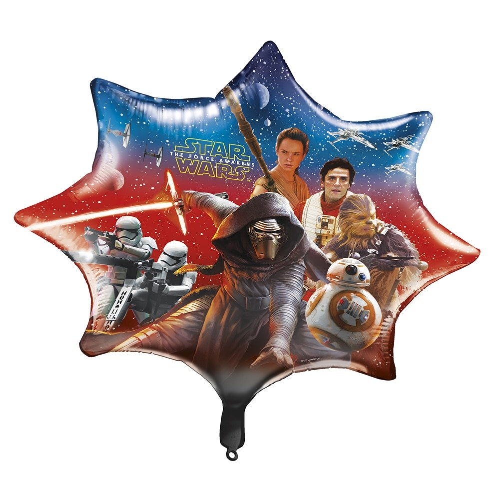 Star Wars The Force Awakens 28 Foil Party Balloon   B017XXW216
