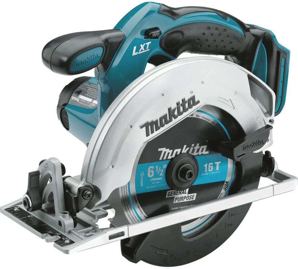 Makita XSS02Z 18V LXT Lithium-Ion Cordless 6-1 2 Circular Saw, Tool Only