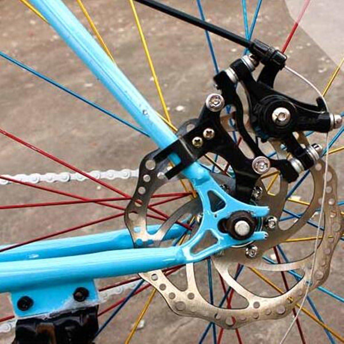 MTB Road Bike Disc Brake Conversion Bracket Adjustable Bicycle V Brake Adaptor