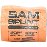 "SAM Rolled Splint 36"", Orange/Blue"