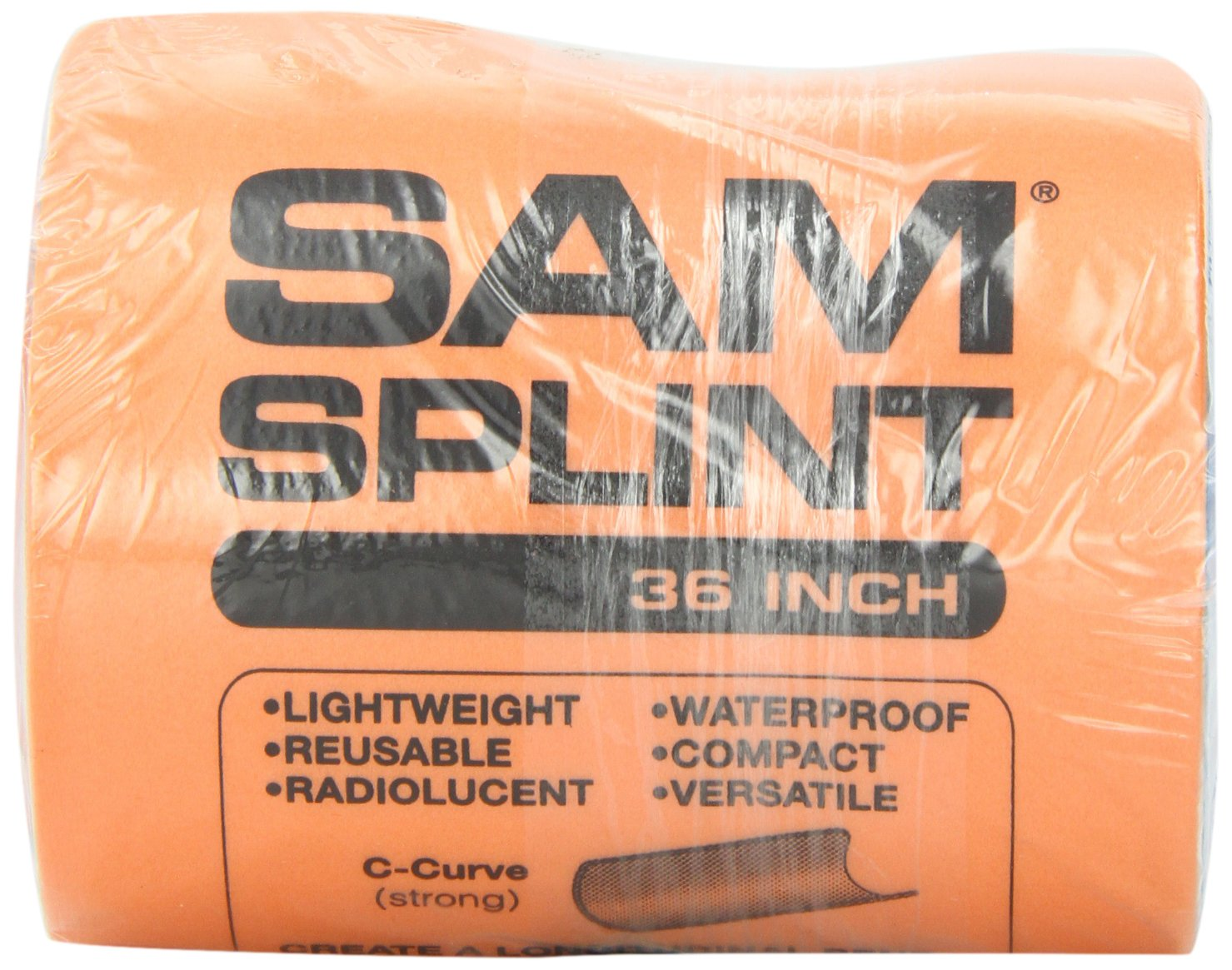 SAM Rolled Splint 36'', Orange/Blue