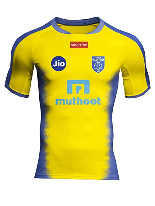 Buy Admiral Kerala Blasters (KBFC) Home Jersey Online at Low Prices in  India - Amazon.in 418947c43
