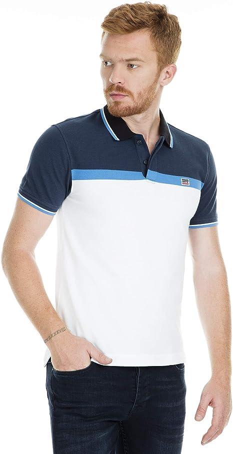 Levis Polo Camiseta para Hombre, Men T-Shirt 81852/M: Amazon.es: Deportes y aire libre