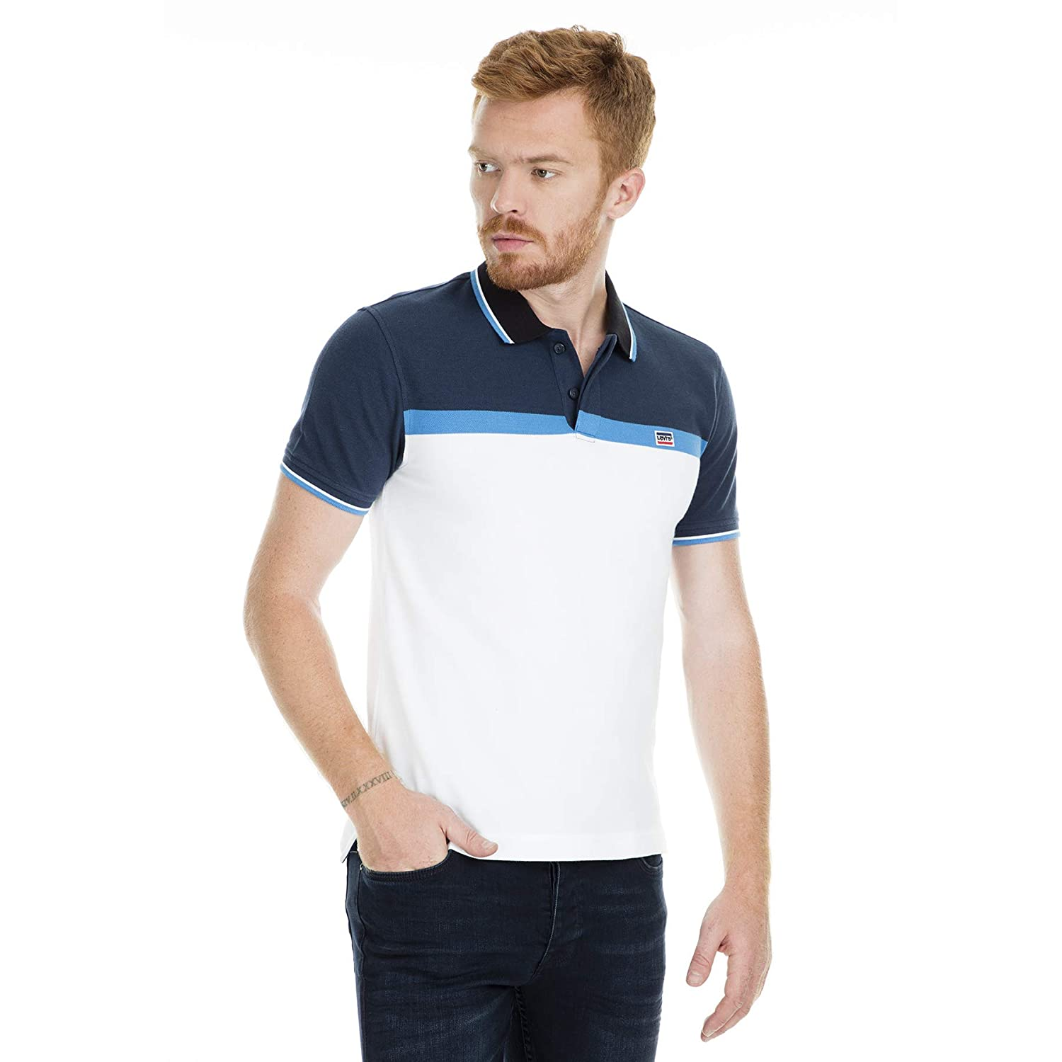 Levis Polo Camiseta para Hombre, Men T-Shirt 81852/M: Amazon.es ...