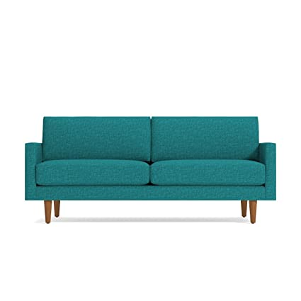 amazon com apt2b scott sofa ocean blue kitchen dining rh amazon com Modern Fabric Sectional Sofa Sale Large Sofa