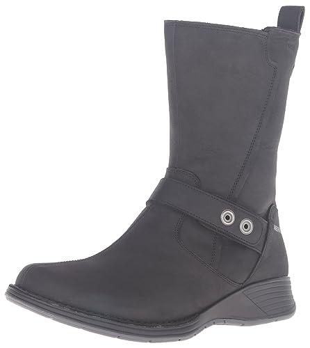 Merrell Women's Travvy Mid Waterproof Boot, Black, ...