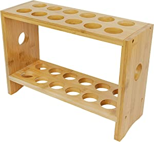 Sid's Bamboo Egg Tray, a decorative egg holder, kitchen organizer, for kitchen storage of eggs from the store or chicken coop, can be a deviled egg carrier, or substitute for an egg skelter