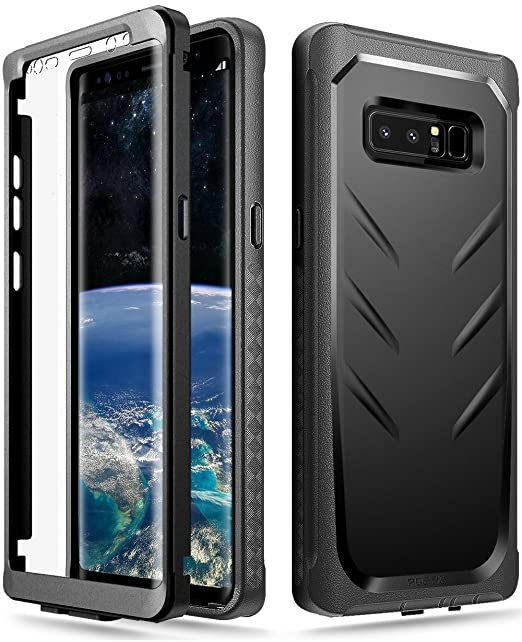 4 opinioni per Custodia per Galaxy Note 8, Poetic Revolution [protezione a 360 gradi] [TPU]