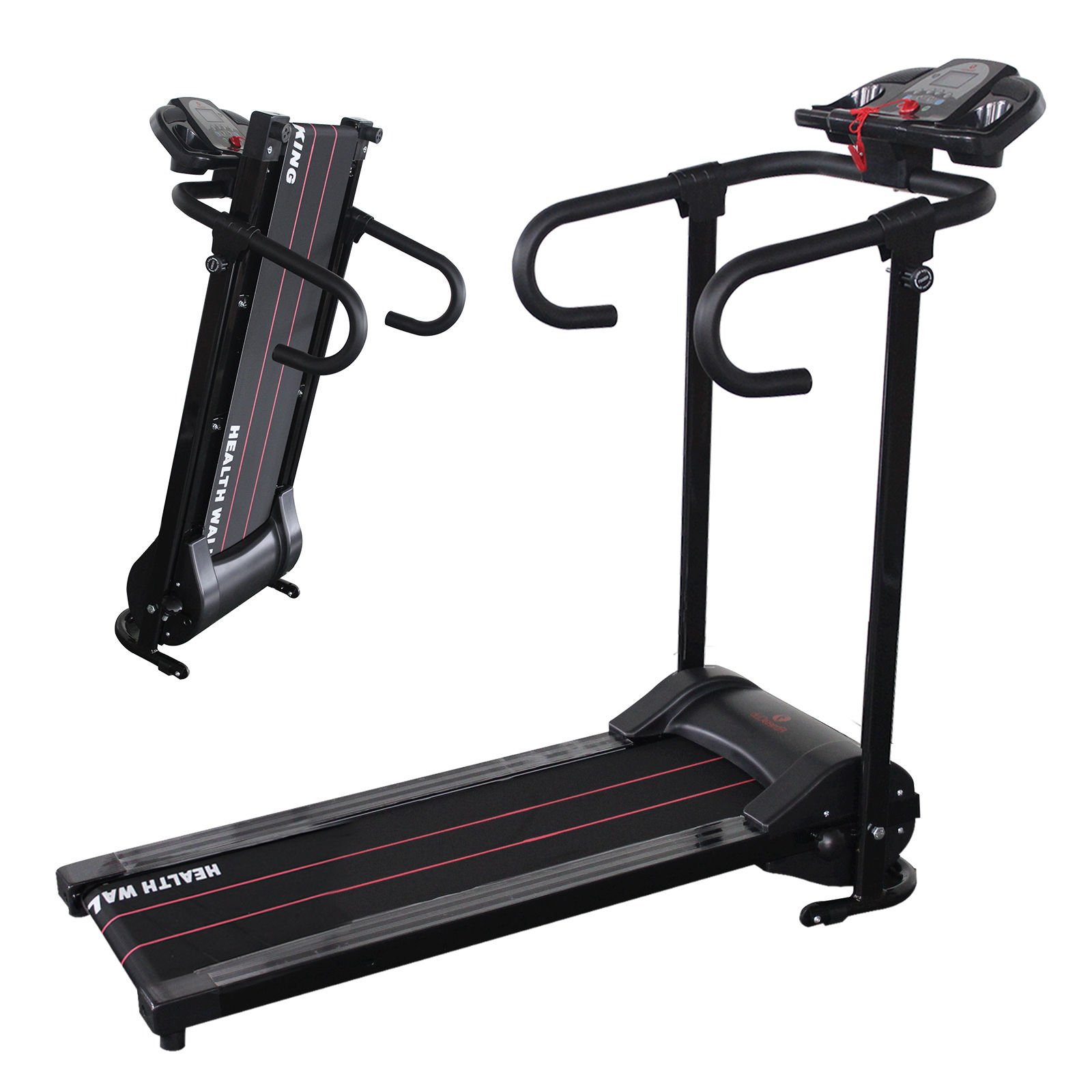 Portable 500W Folding Electric Motorized Treadmill Running Gym Fitness Machine by ZETY (Image #2)