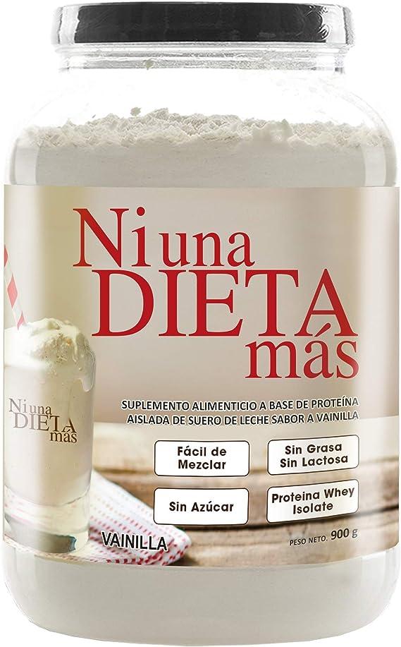 Ni Una Dieta Más Vainilla Aislado De Proteína De Suero Health Personal Care