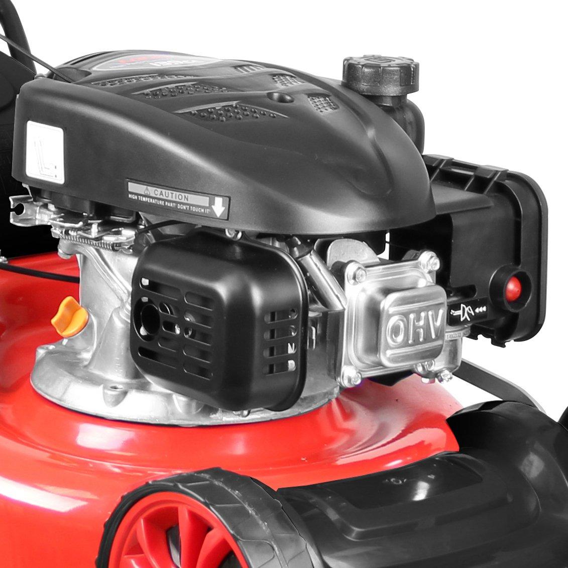 Güde 95327 Cortacésped Eco Wheeler 462.1 R, 2200 W, color rojo ...