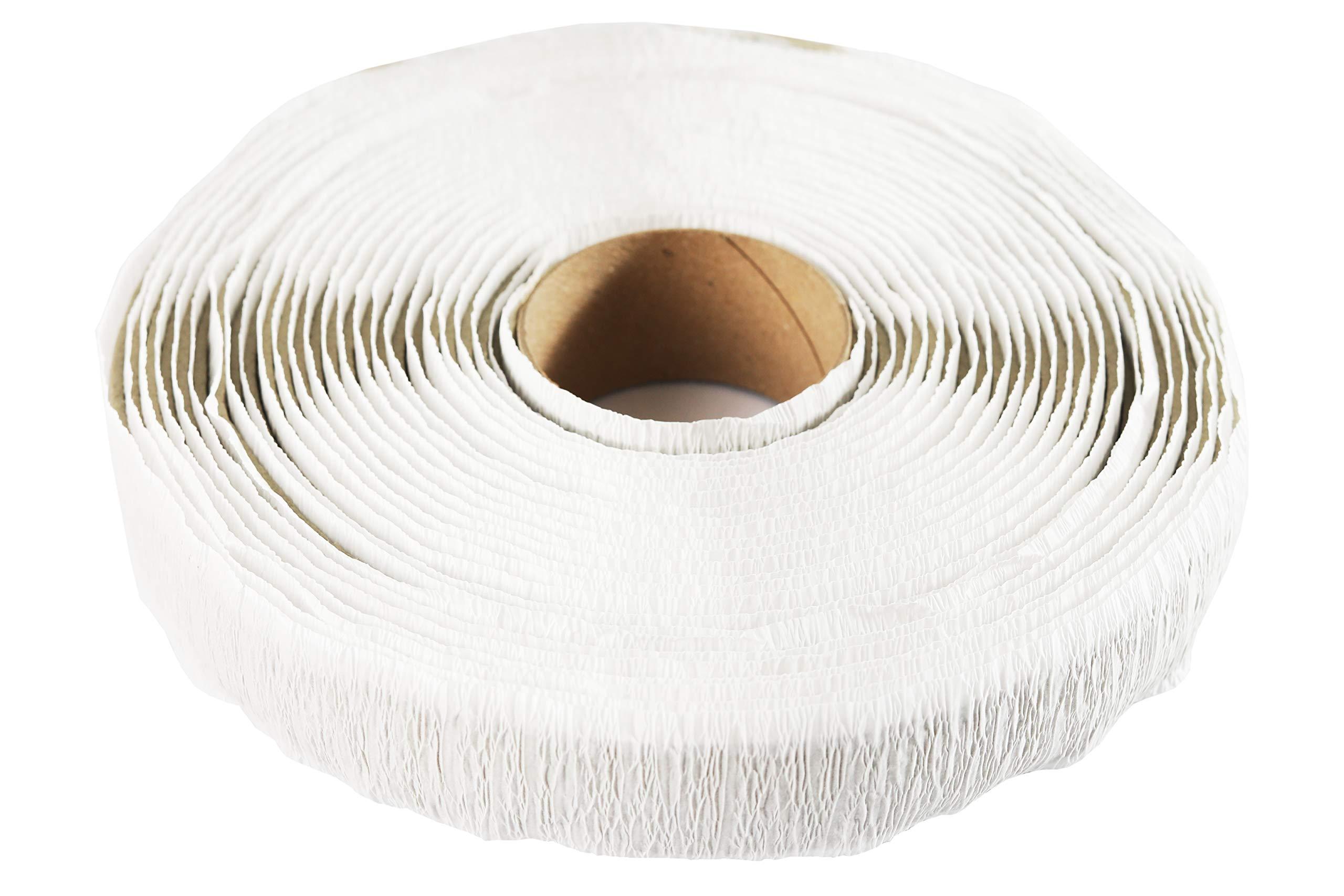 Butyl Putty Tape Window Flange Tape Camper RV Roof and Window Sealant RV Putty Tape (1/8'' x 1'' x 30')