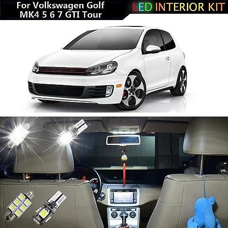 muchkey® LED para interior de coche lámpara de bombillas de repuesto de luz Dome Mapa