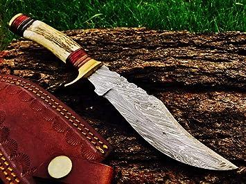 Amazon.com: AJ Blade AJ-137 - Cuchillo de caza de acero ...
