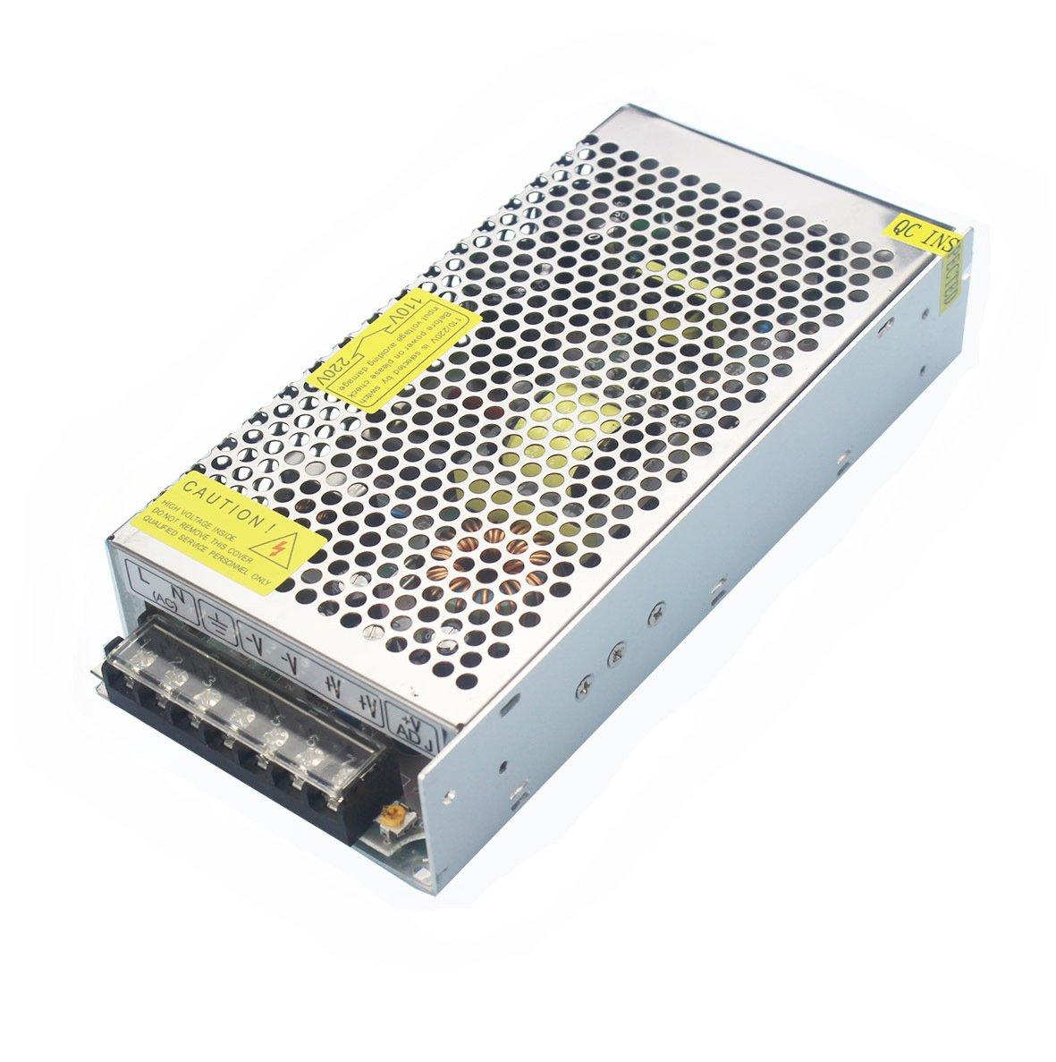 JoyNano DC48V 10A Alimentation à découpage 480W AC-DC Convertisseur Transformateur pour Machine de Frein Automatisation Industrielle CNC Moteur Pas-à-Pas et Plus [Version améliorée] TYCON SYSTEMS INC