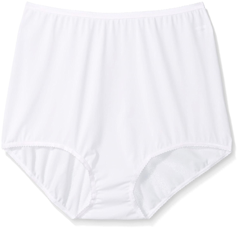 Shadowline womens plus-size Women's Plus-size Panties - Seamless Nylon Brief (3 Pack) Shadowline Sleepwear 17017X