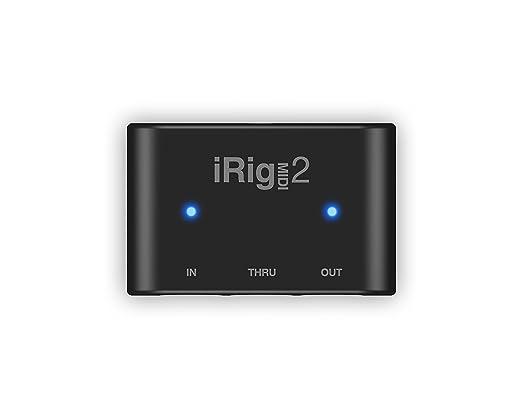 168 opinioni per IK Multimedia iRig Midi 2 Interfaccia MIDI per iPhone, iPad, Mac e PC, Nero