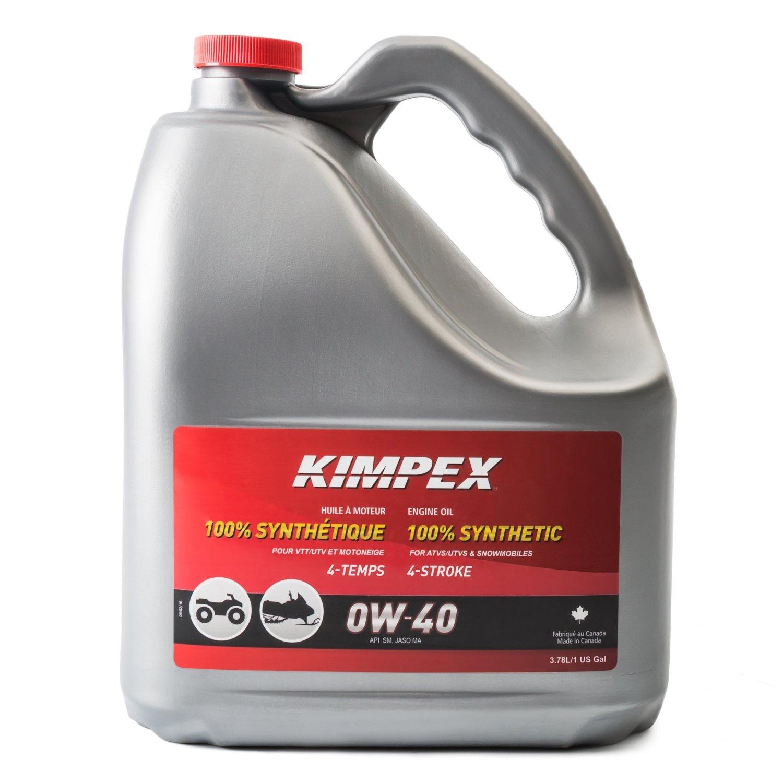 Kimpex 4-S100 0W40 Snowmobile/ATV Engine Oil 3.78 L 260613