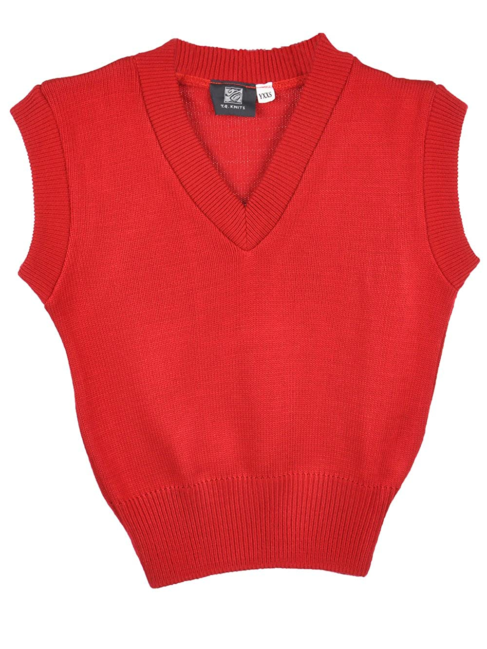 T.Q. Knits Unisex Sweater Vest