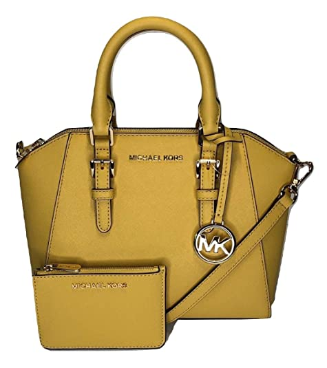 Amazon.com: MICHAEL Michael Kors Ciara MD Messenger ...