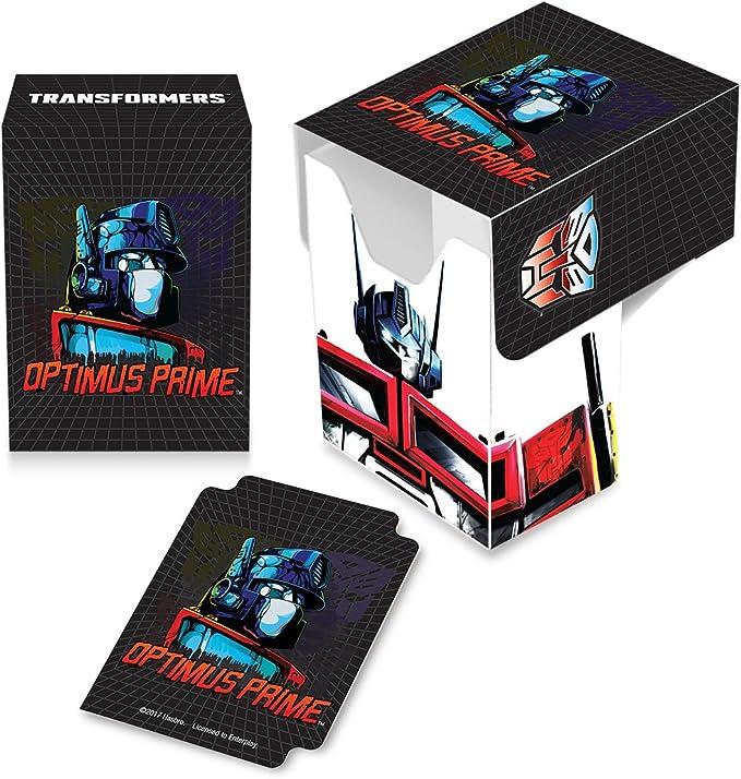 Deck Box: Transformers: Optimus Prime: Amazon.es: Juguetes y juegos
