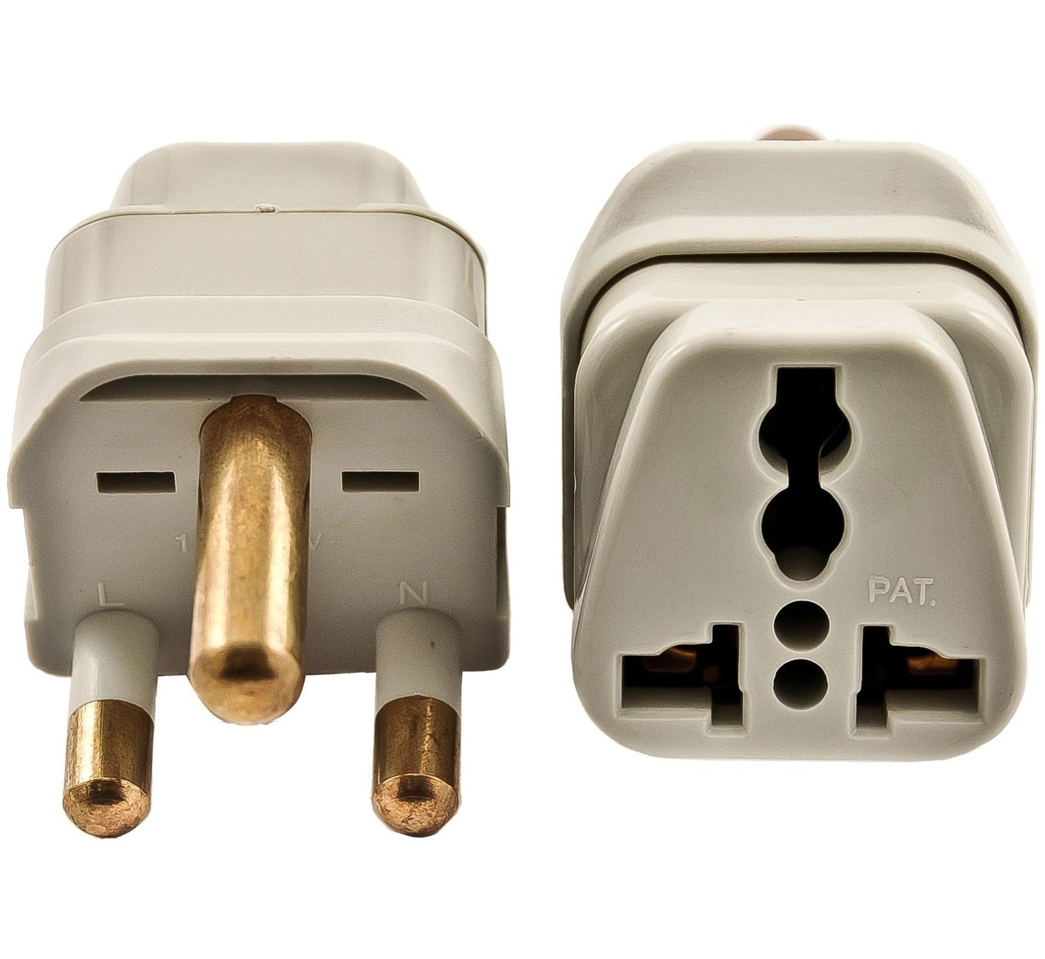 Vct Vp110 Universal Travel Outlet Plug Adapter For South Africa Be Sure To Use The Properly Rated Electrical Box Designed Used Electric Plugs