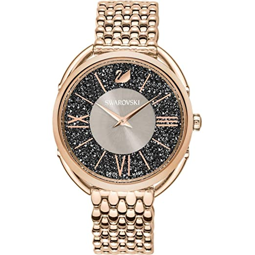 Swarovski Crystalline Reloj de Mujer Cuarzo 35mm Correa de Acero 5452462: Amazon.es: Relojes