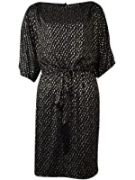 Jessica Simpson Women's Cold Shoulders Belted Dress