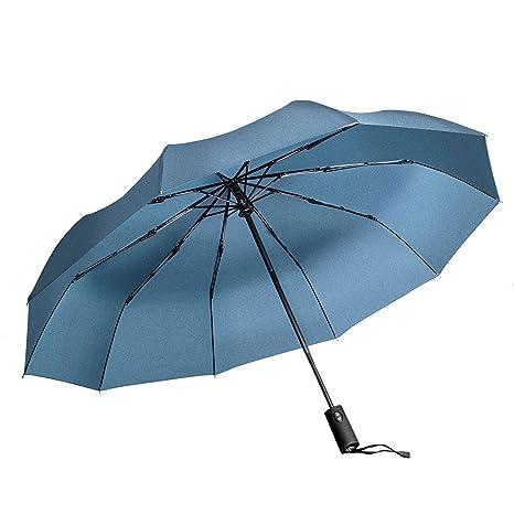 "Paraguas de Viaje Vanwalk Paraguas Plegable Automático para Viajar - ""Dupont Teflon"" 10"