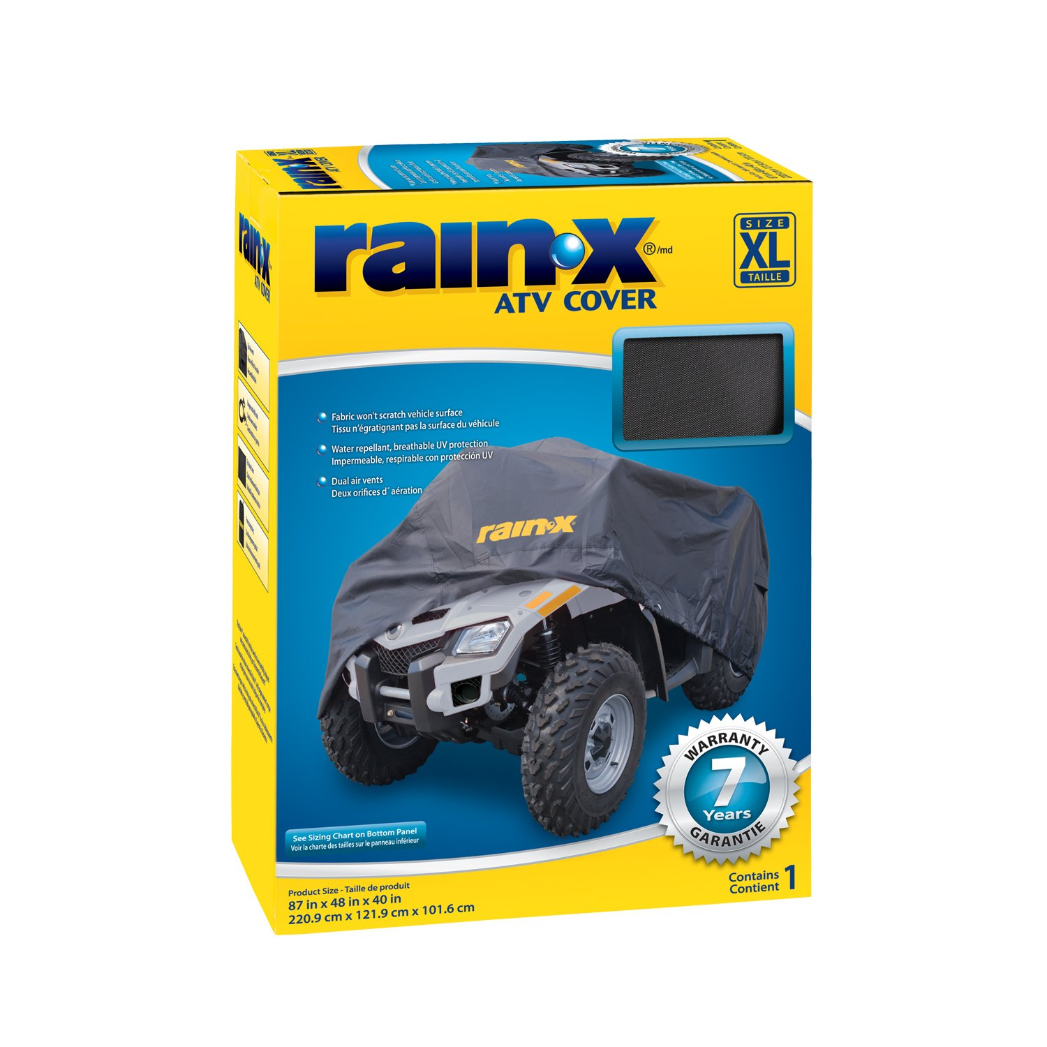 Rain-X 804525 Black Large ATV Cover