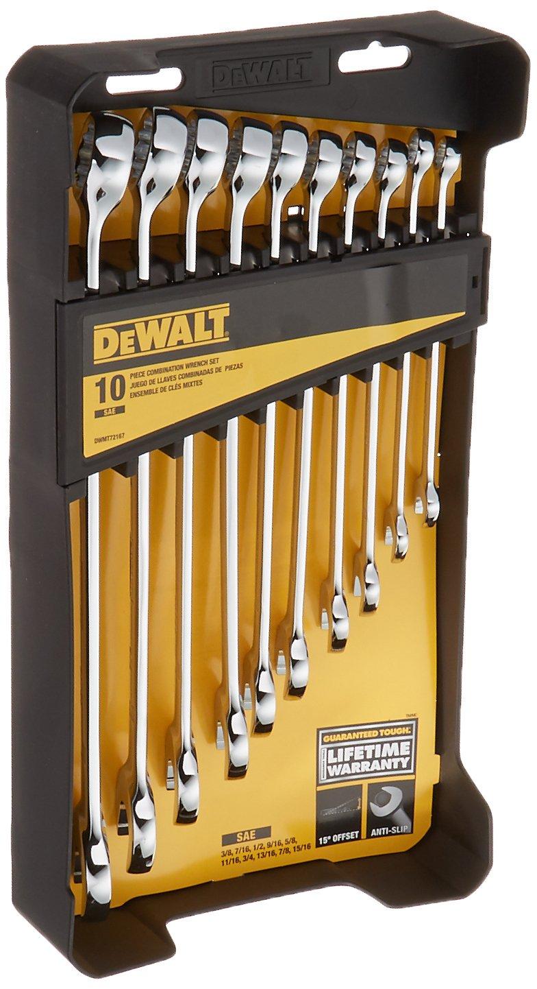DEWALT DWMT72167 Combination Wrench Set (10 Piece) by DEWALT