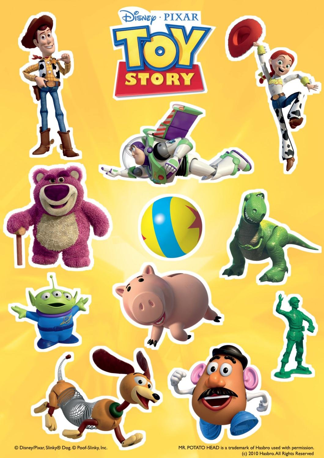 50 Pieces Disney 17159 Toy Story Jigsaw Puzzle Includes Free Toy Story Stickers