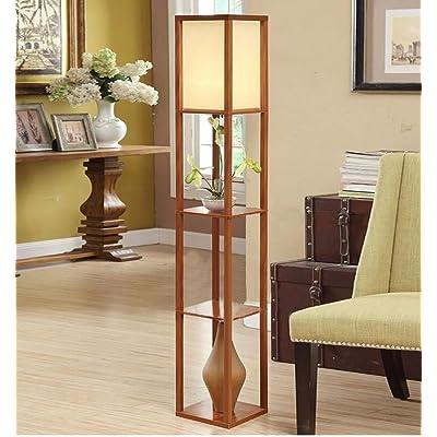 Lampadaire style chinois simple salon lampadaire chambre lampe de ...