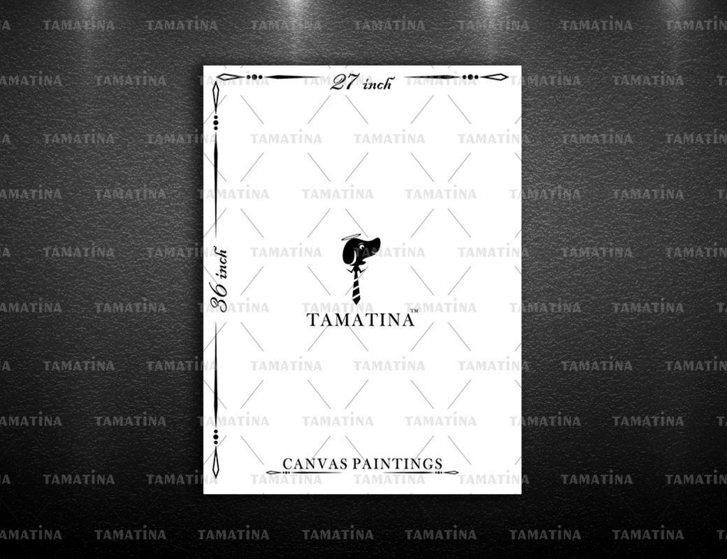 Pintura de lona la lona de de Tamatina - Rutas comerciales - Thibaut - Arte de la lona 4b7ff0