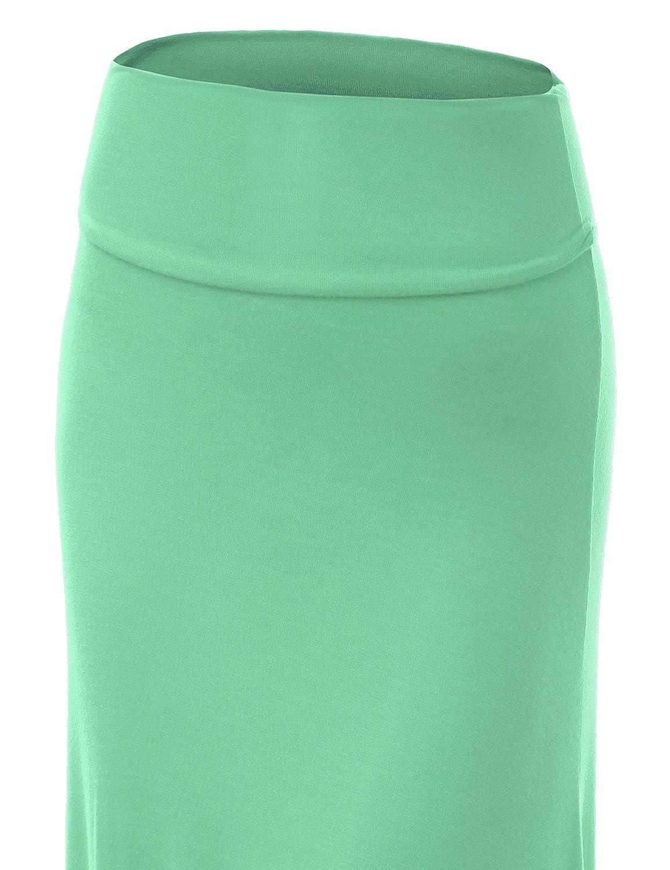 Made in USA LL Womens Floor Length Maxi Skirt