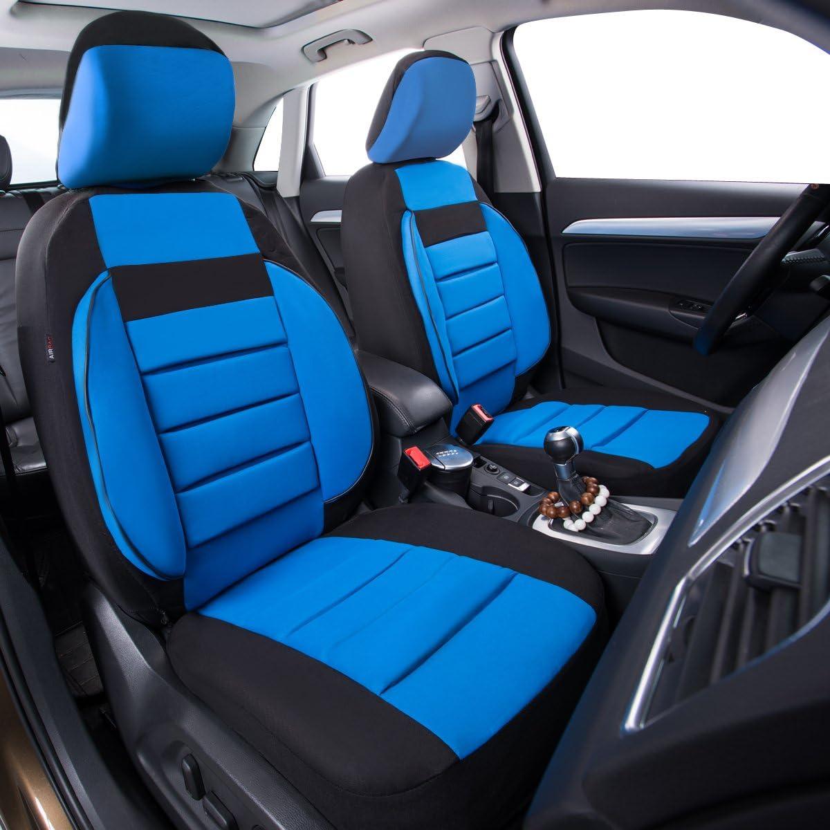 /6/Elegance Universal Automarke Front Seat Covers Set package-fit f/ür Fahrzeuge schwarz und grau mit Composite Schwamm Innen Airbag kompatibel Auto Pass/